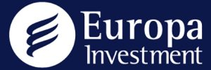 Logo Europa Investment Azul